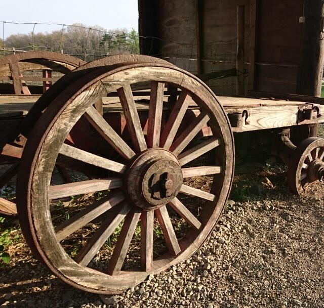 荷馬車のイメージ