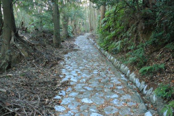 姫街道の石畳