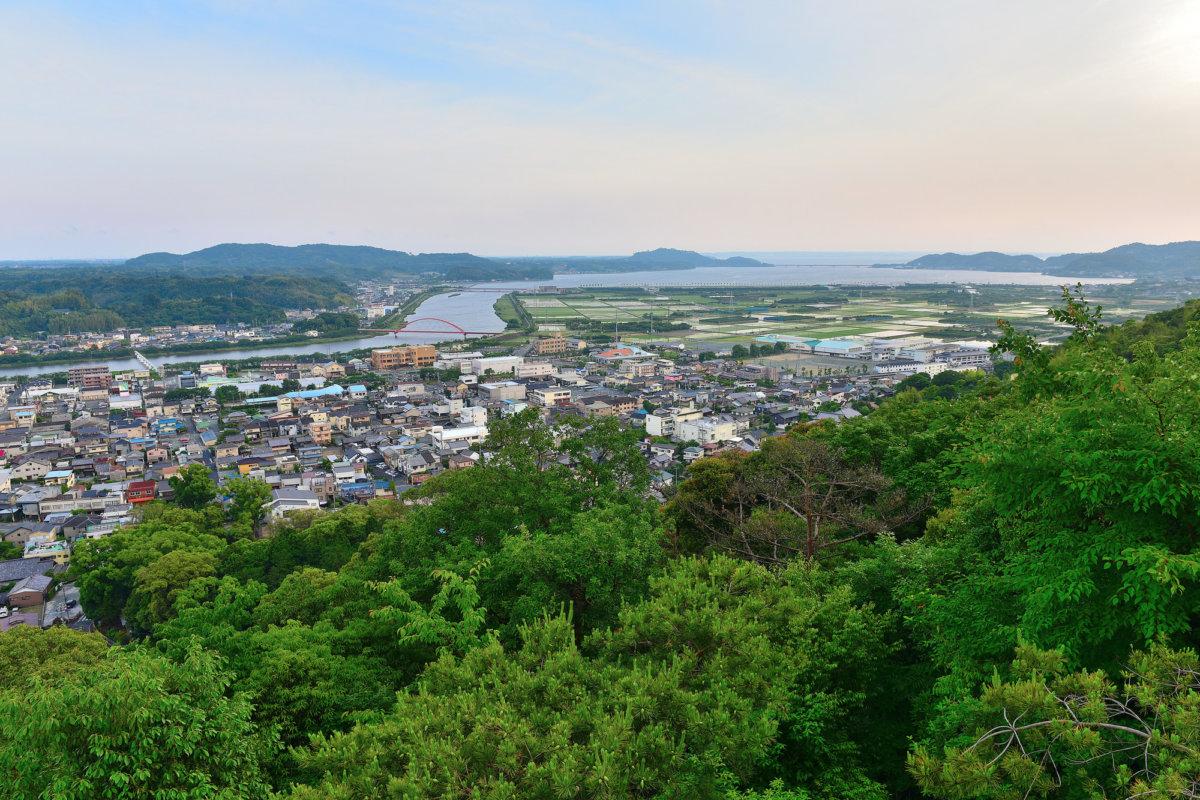 細江公園展望台から見る風景