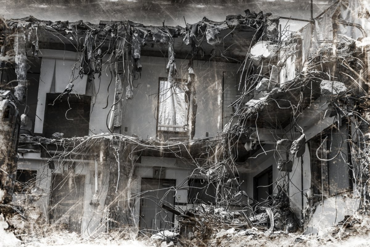 廃墟のイメージ