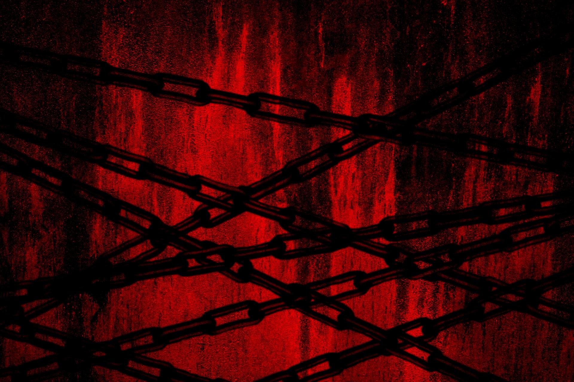 鎖のホラーイメージ