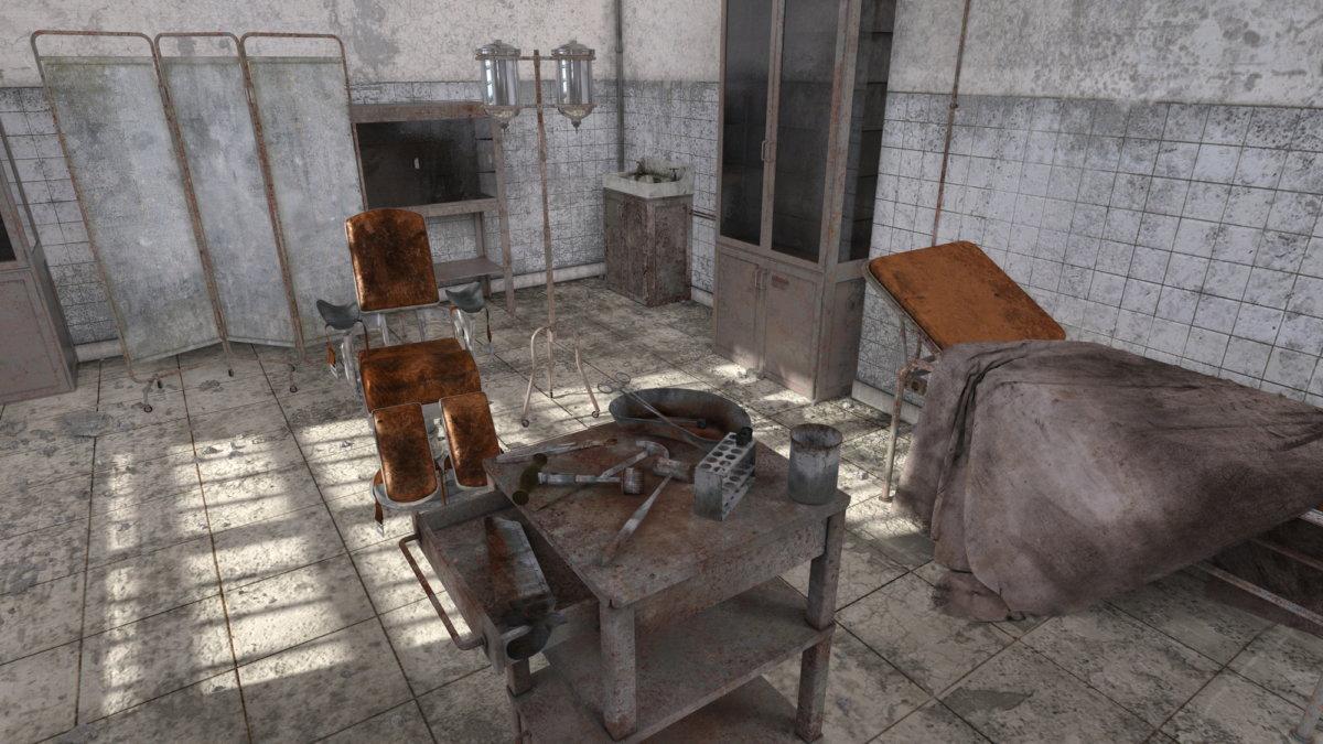 廃病院のイメージ