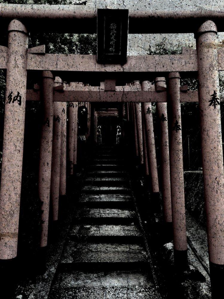 神社のホラーイメージ