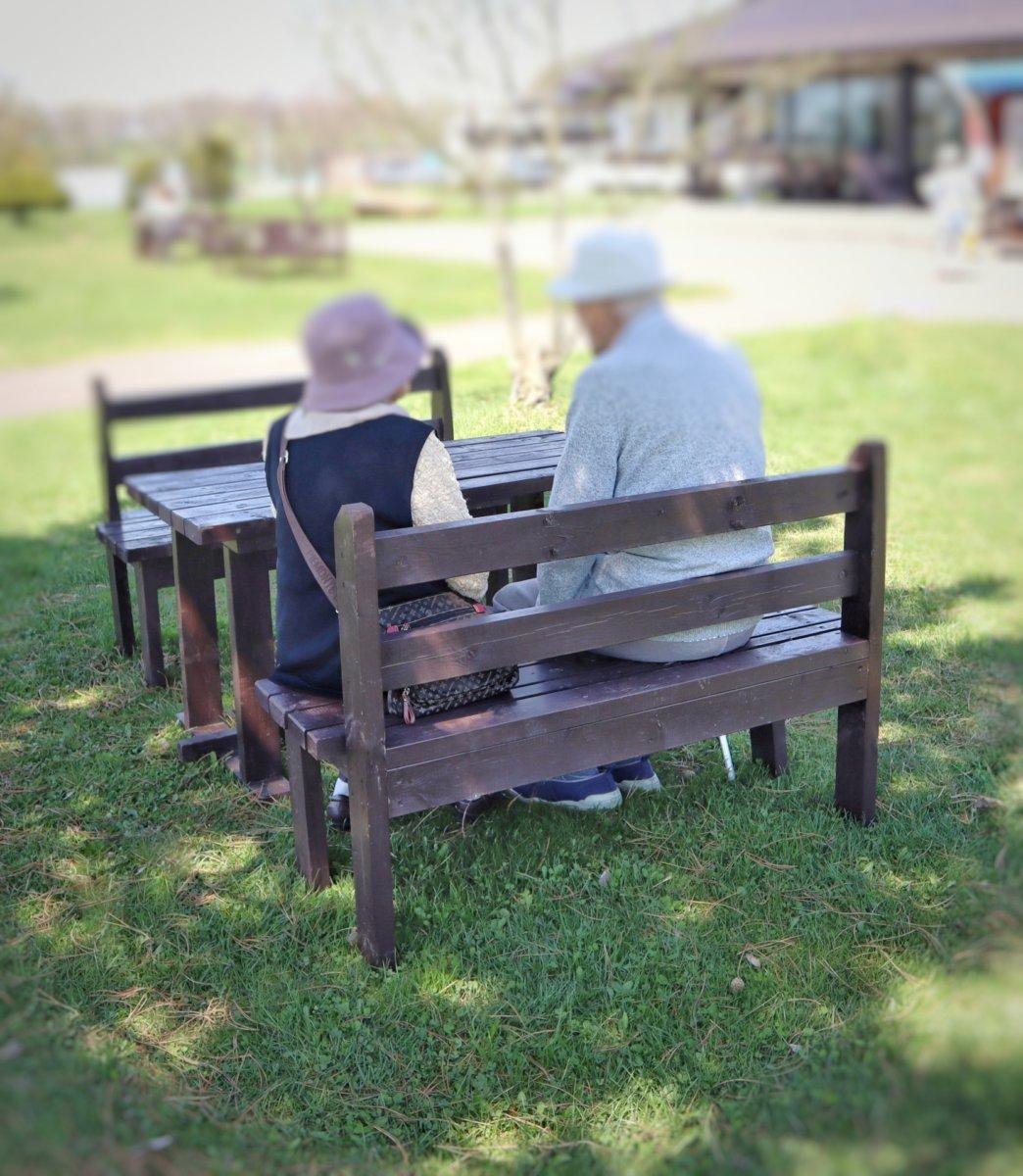 老人の会話