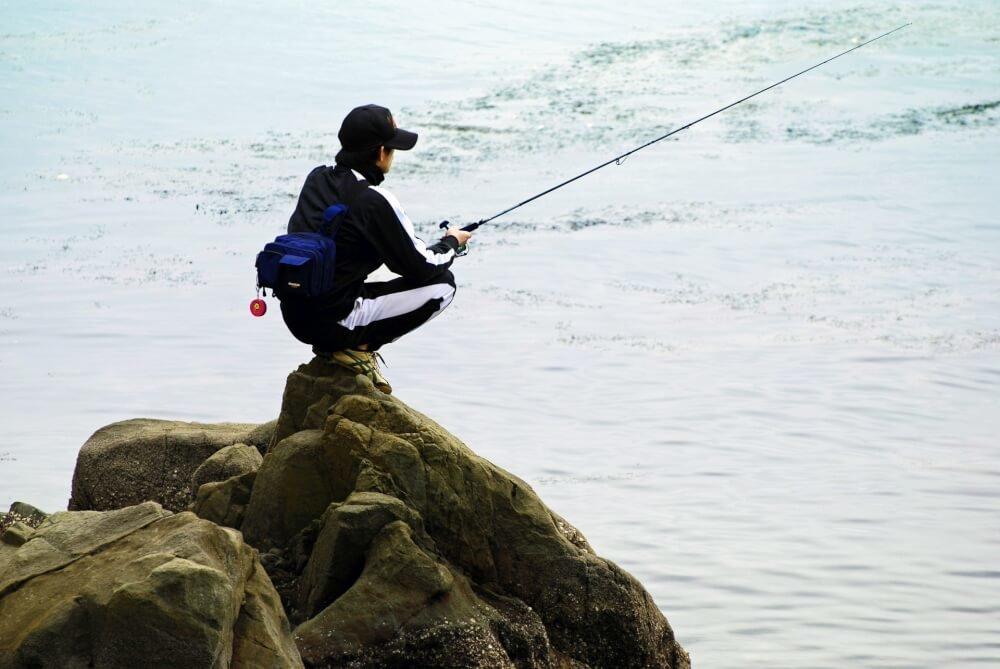 一人ぼっちの釣り人