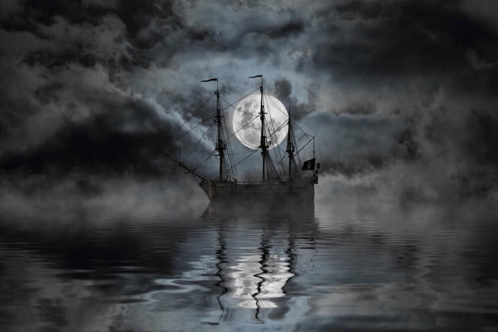 幽霊船のイメージ画像