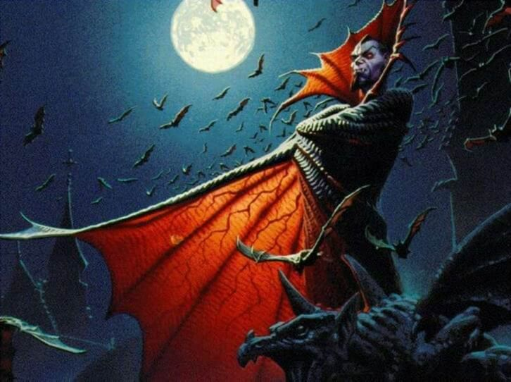 ドラキュラ伯爵のイメージ画像