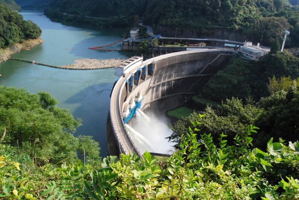 天ヶ瀬ダムの写真