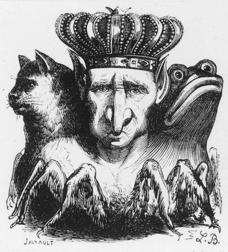 悪魔のバアルの画像