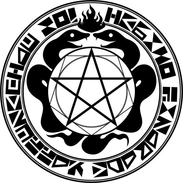 五芒星の魔法陣のイメージ画像